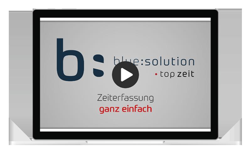 Vorschaubild für den blue:solution - topzeit Trailer
